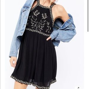 Urban outfitters westerly emblem mini dress
